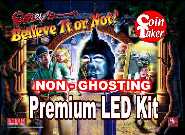 RIPLEY'S BELIEVE IT OR NOT-1 LED Kit w Premium Non-Ghosting LEDs
