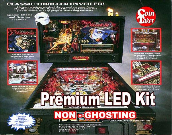 1. PHANTOM OF THE OPERA LED Kit with Premium Non-Ghosting LEDs