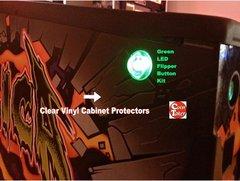 Clear Flipper Button Guard