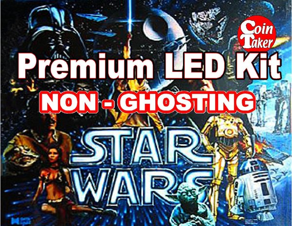 1.  STAR WARS Data East 1992 LED Kit with Premium Non-Ghosting LEDs