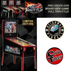 Full Throttle Limited Edition Heighway Pinball