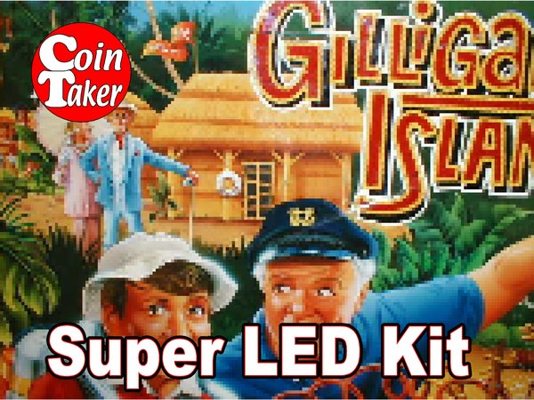 2. GILLIGAN'S ISLAND LED Kit w Super LEDs