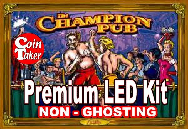 1. CHAMPION PUB LED Kit with Premium Non-Ghosting LEDs