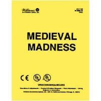 MEDIEVAL MADNESS PINBALL MANUAL (REPRINT)