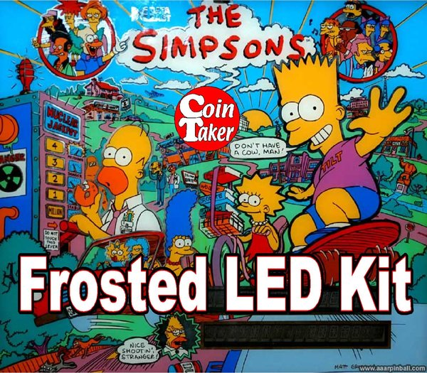 3. SIMPSONS LED Kit w Frosted LEDs