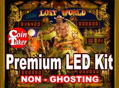1. LOST WORLD Bally (1978) LED Kit with Premium Non-Ghosting LEDs