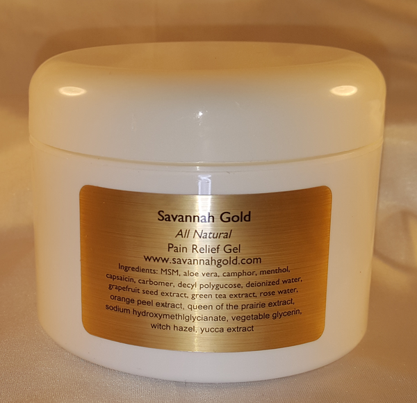 Pain Relief Gel Large Savannah Gold