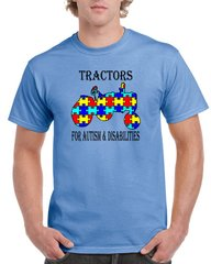 Tractors For Autism & Disabilities Official T-shirt