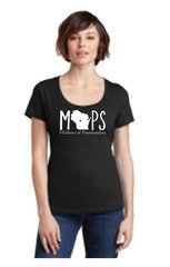 District Made Scoop Tee 106L - MOPS Logo