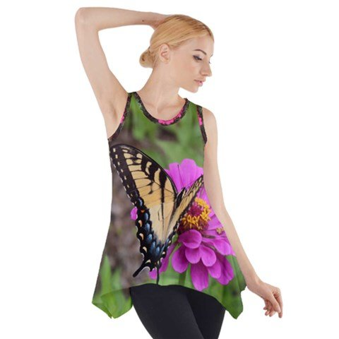 Butterfly Swing Sleeveless Tunic