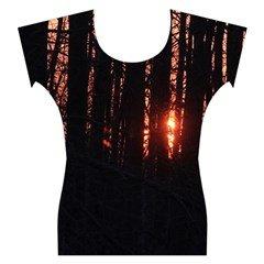 Sunset Through the Trees Capsleeve Tee