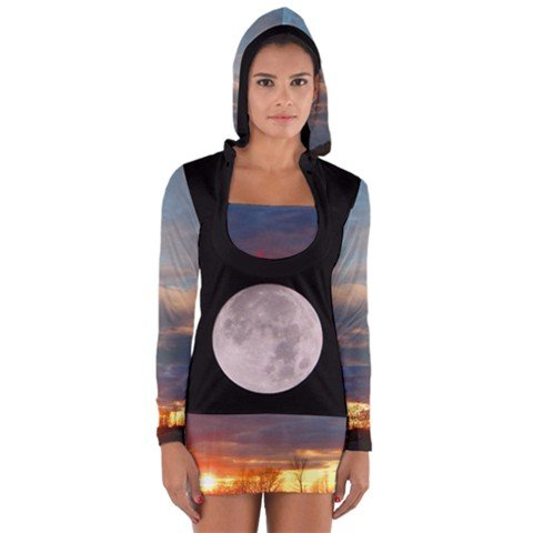 Sunset Day Moon Night Moon Hoodie