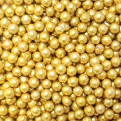 Gold Dragees 3-4mm 2.1 oz.