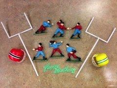 Football Touchdown Team Goal Posts Cake Kit