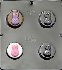 Bunny Face Oreo Cookie Chocolate Craft Candy Mold