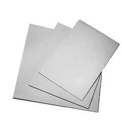 14x10 inch White Corrugated Cake Board Pad Each