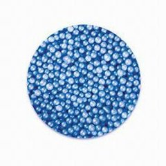 Blue Pearlized Edible Sugar Pearls 3mm 8 oz