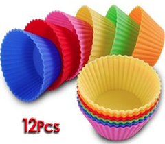 Silicone Cupcake Baking Liners 12 Piece