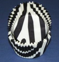 Black Zebra standard Muffin Baking Cups 500 piece
