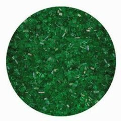 Green Sparkling Sugar Crystals 4 oz