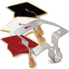 Graduation Cap Cookie Cutter