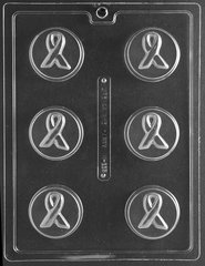 Breast Cancer Awareness Ribbon Oreo Cookie Chocolate Candy Mold