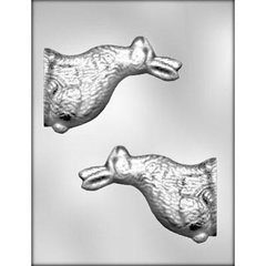 Easter Bunny Rabbit 3D Large Chocolate Craft Candy Mold
