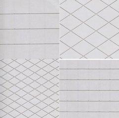 Diamond & Squares Assortment Textured Impression Mat Set of 4