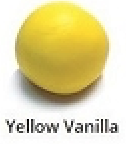 Yellow Vanilla Rolled Fondant Icing Satin Ice 2 lb.