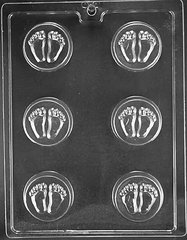 Baby Feet Oreo Cookie Chocolate Craft Candy Mold