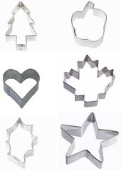 Holiday Mini Cookie Cutter Set