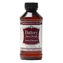 Buttery Sweet Dough Bakery Emulsion Flavoring 4 oz.