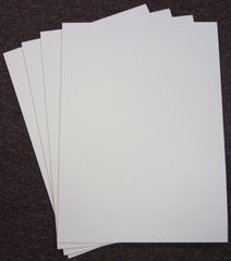 25x17 inch Full Sheet White Corrugated Cake Board Pad Each