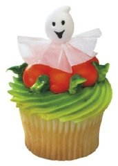 Ghost 3D Cupcake Picks 12 Piece