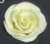 Yellow Rose 3D 1.5 inch 6 Piece Edible Gumpaste Flower