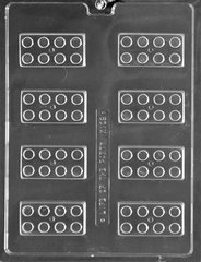 Block 8 Cavity Chocolate Craft Candy Mold