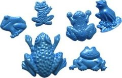 Frogs Silicone Push Mold