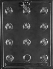 Caramel Dessert 20 Cavity Chocolate Craft Candy Mold