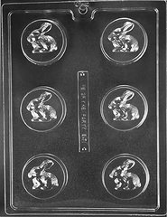 Bunny Rabbit Oreo Cookie Chocolate Craft Candy Mold