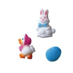 Easter Charms Sugar Decoration 24 Piece