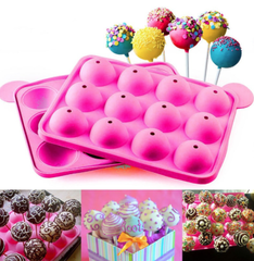 Cake Pops Silicone Baking Mold Pan