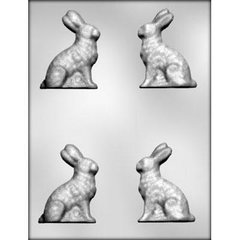 Easter Bunny Rabbit 3D Small Chocolate Craft Candy Mold