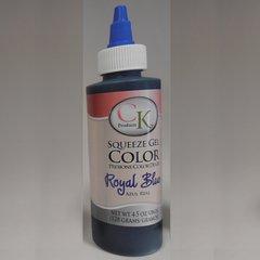 Royal Blue Gel Food Coloring 4.5 oz
