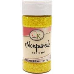 White Non-Pareils Sprinkles 3.8 oz