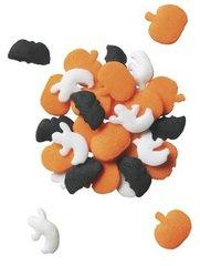 Spooky Shapes Bats Ghosts Pumpkins Halloween Sprinkles 3 oz