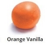 Orange Vanilla Rolled Fondant Icing Satin Ice 2 lb.