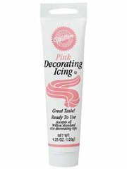 Pink Icing in a Tube 4.25 oz