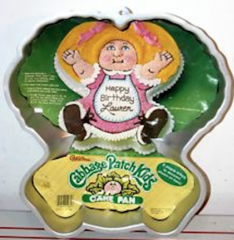 Cabbage Patch Cake Pan Vintage 1984