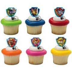 Paw Patrol Ruff Ruff Rescue Cupcakes Cupcake Rings 12 piece