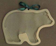 Big Bear Ceramic Cookie Mold